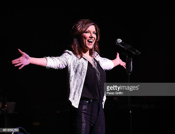 Martina McBride performs at Cobb Energy Center on January 16 2015 in Atlanta Georgia