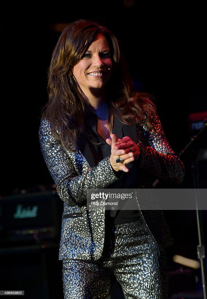 Martina McBride performs onstage at the Creative Arists Agency Party during Day 3 of the IEBA 2014 Conference on September 29 2014 in Nashville...