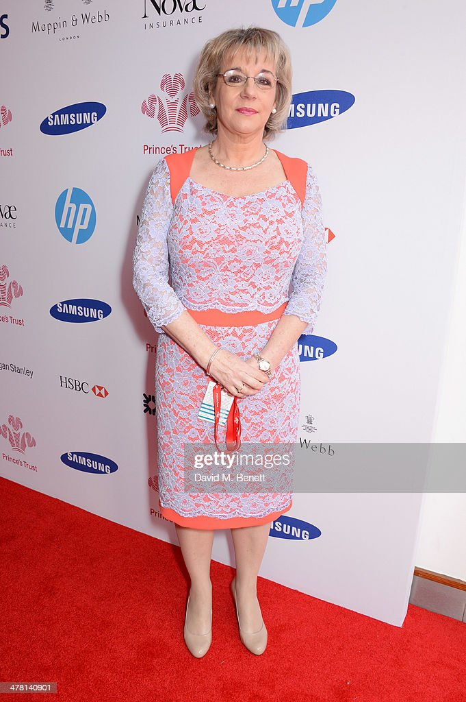 Martina Milburn, chief executive of The Prince's Trust, attends The Prince's Trust & Samsung Celebrate Success Awards at Odeon Leicester Square on March 12, 2014 in London, England.
