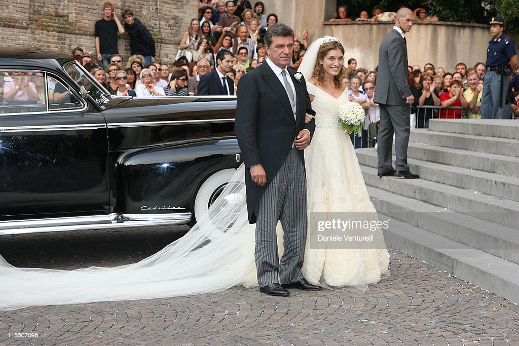 wedding of martina mondadori and peter sartogo september