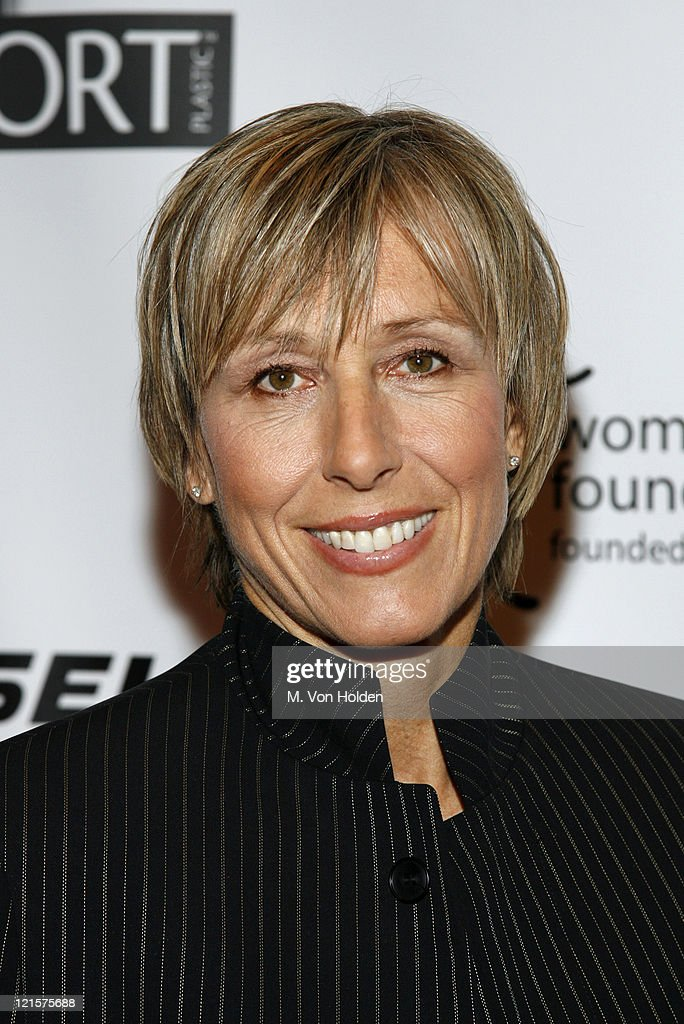 Martina Navratilova during The 27th Annual Salute to Women in Sports Awards Dinner at Wadorf-Astoria Hotel in New York City, New York, United States.