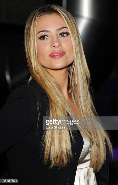 Martina Stella attends the 2009 HIVideo spot award at Alcatraz on November 29 2009 in Milan Italy