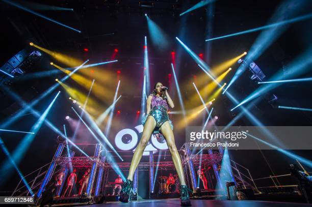 Martina Stoessel AKA 'Tini' Performs at Mediolanum Forum Forum on March 28 2017 in Milan Italy