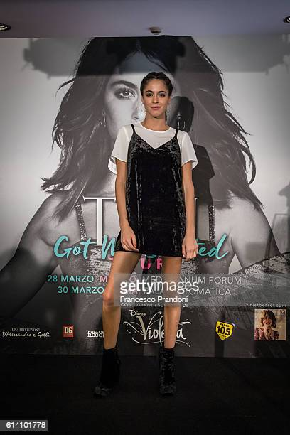 Martina Stoessel aka Tini Stoessel 'Got Me Started' Tour In Milan on October 12 2016 in Milan Italy