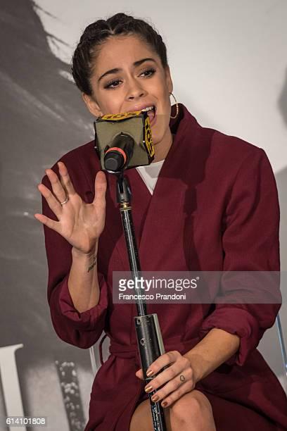 Martina Stoessel aka Tini Stoessel 'Got Me Started' Tour In Milan on October 12 2016 in Milan Italy