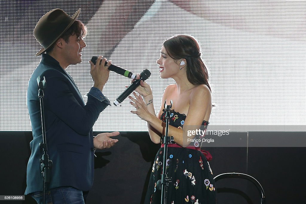 <a gi-track='captionPersonalityLinkClicked' href=/galleries/search?phrase=Martina+Stoessel&family=editorial&specificpeople=11048236 ng-click='$event.stopPropagation()'>Martina Stoessel</a> and <a gi-track='captionPersonalityLinkClicked' href=/galleries/search?phrase=Jorge+Blanco&family=editorial&specificpeople=5486518 ng-click='$event.stopPropagation()'>Jorge Blanco</a> perform during the 'Tini - The New Life Of Violetta' Premiere In Rome on April 29, 2016 in Rome, Italy.