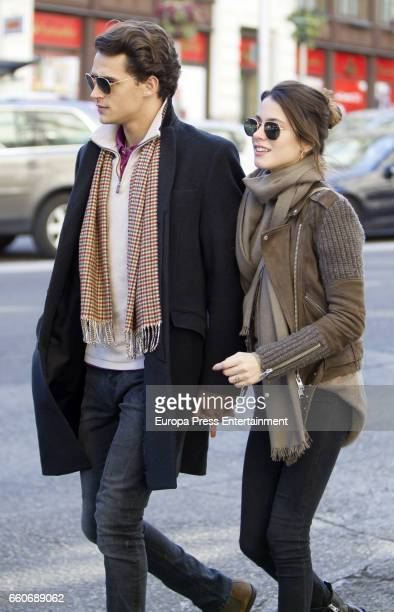 Martina Stoessel and Pepe Barroso are seen on March 16 2017 in Madrid Spain