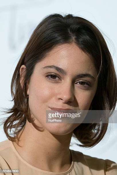 Martina Stoessel attends a photocall for 'Tini El Gran Cambio De Violetta' at The Palace Hotel on April 27 2016 in Madrid Spain