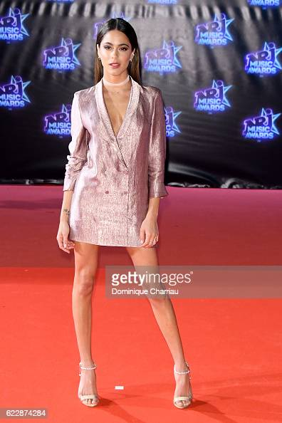 Martina Stoessel attends the18th NRJ Music Awards Red Carpet Arrivals at Palais des Festivals on November 12 2016 in Cannes France