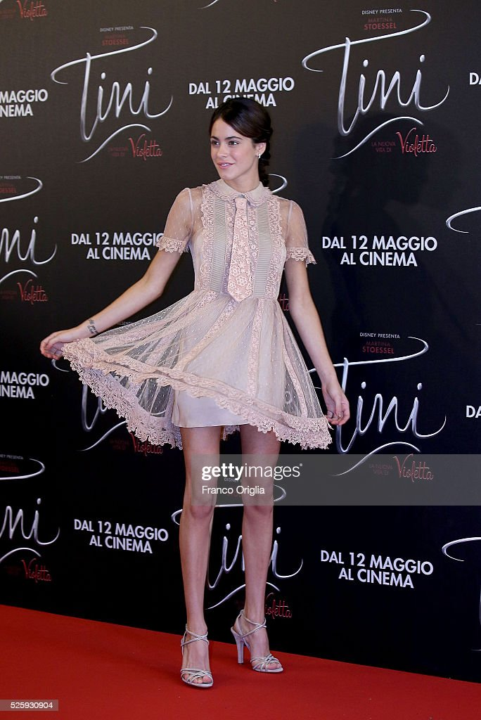 <a gi-track='captionPersonalityLinkClicked' href=/galleries/search?phrase=Martina+Stoessel&family=editorial&specificpeople=11048236 ng-click='$event.stopPropagation()'>Martina Stoessel</a> attends 'Tini - The New Life Of Violetta' Photocall In Rome at Hotel Parco dei Principi on April 29, 2016 in Rome, Italy.