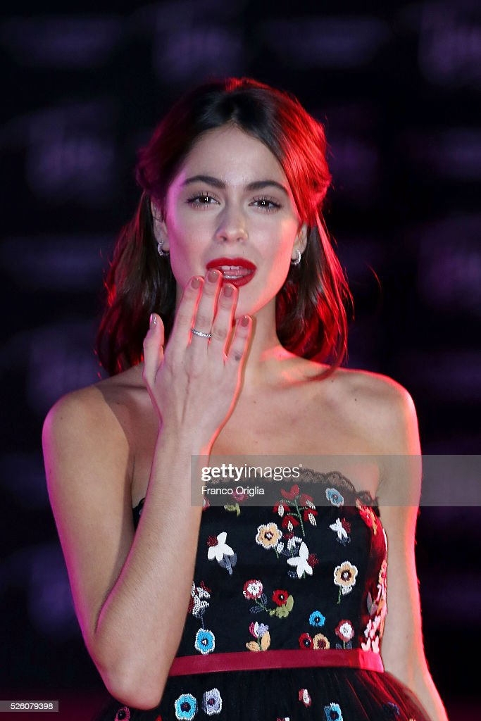<a gi-track='captionPersonalityLinkClicked' href=/galleries/search?phrase=Martina+Stoessel&family=editorial&specificpeople=11048236 ng-click='$event.stopPropagation()'>Martina Stoessel</a> 'Tini - The New Life Of Violetta' Premiere In Rome on April 29, 2016 in Rome, Italy.