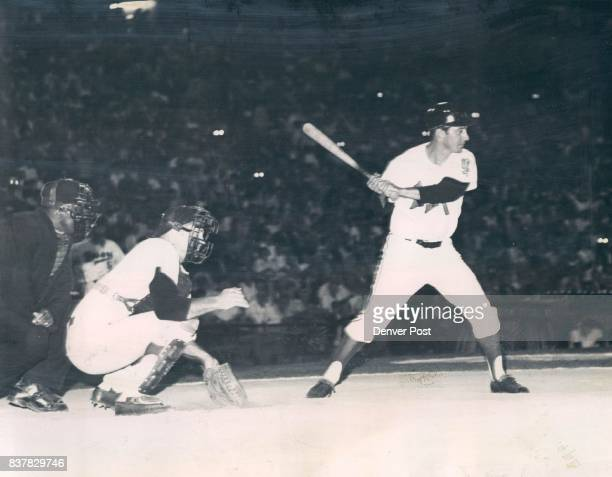 MartinBilly Bill Martin to Face Warren Spahn at Bears Stadium Manager Billy Martin of the Denver Bears Shown here batting in a recent exhibition...
