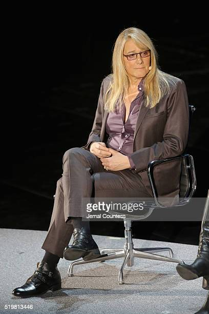 Martine A Rothblatt speaks onstage at The Fourth Revolution during Tina Brown's 7th Annual Women in the World Summit at David H Koch Theater at...