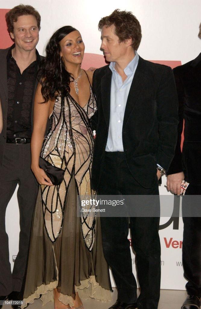 Martine Mccutcheon And Hugh Grant, Love Actually Movie Premiere At The Odeon Leicester Square, London
