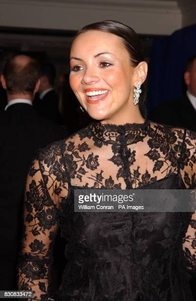 Martine McCutcheon during a party at The Grosvenor House Hotel after the Orange British Academy Film Awards at the Odeon cinema in London's Leicester...