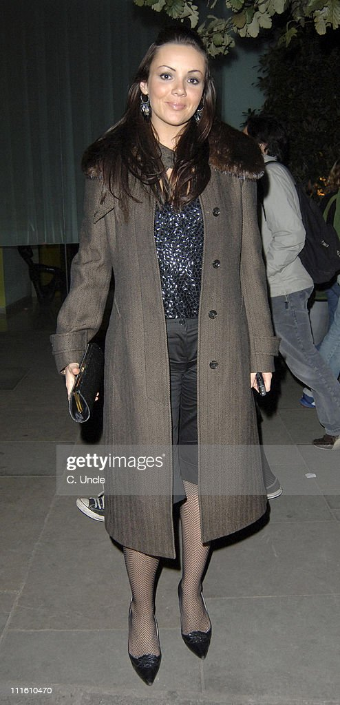 Martine McCutcheon Sighting at The St. Martin's Lane Hotel in London -