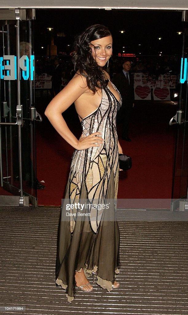 Martine Mccutcheon, Love Actually Movie Premiere At The Odeon Leicester Square, London
