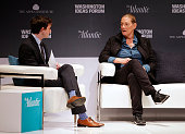 Martine Rothblatt CEO United Therapeutics and Founder SiriusXM is interviewed by Derek Thompson Senior Editor The Atlantic during The Atlantic and...