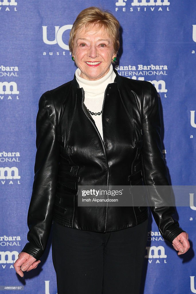 Martine Saunier attends the presentation of the Outstanding Performer Of The Year Award at the Arlington Theatre during the 29th Santa Barbara International Film Festival on February 1, 2014 in Santa Barbara, California.
