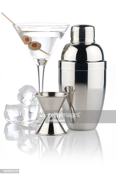 Martini Cocktail and Shaker
