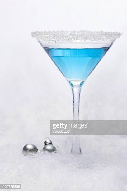Martini in the snow