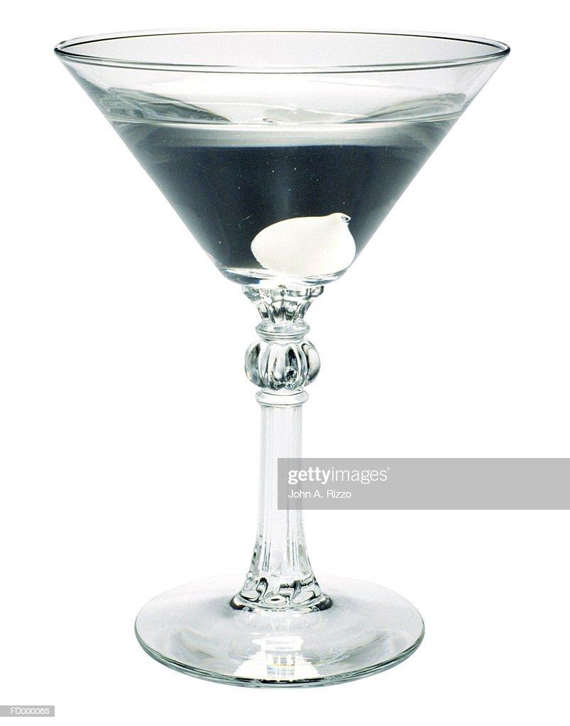 Martini with Onion : Stock Photo