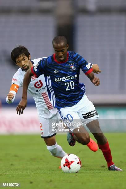 Martinus of Yokohama FMarinos in action during the JLeague J1 match between Yokohama FMarinos and Omiya Ardija at Nissan Stadium on October 14 2017...