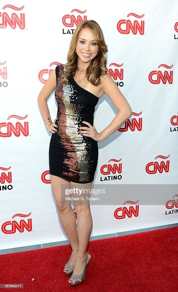 Martiza Pena attends the 2013 CNN en Espanol and CNN Latino Upfront at Ink 48 Hotel on May 2, 2013 in New York City.