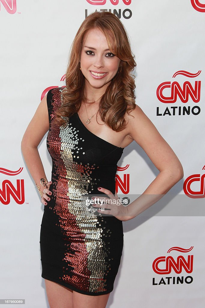 Martiza Pena attends the CNN en Espanol and CNN Latino 2013 Upfront at Ink 48 Hotel on May 2, 2013 in New York City.