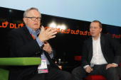 Martti Ahtisaari and Marko Ahtisaari Nokia attend the Digital Life Design conference at HVB Forum on January 24 2010 in Munich Germany DLD brings...