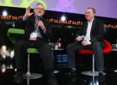Martti Ahtisaari and Marko Ahtisaari Nokia attend the Digital Life Design conference at HVB Forum on January 24 2010 in Munich Germany DLD brings...