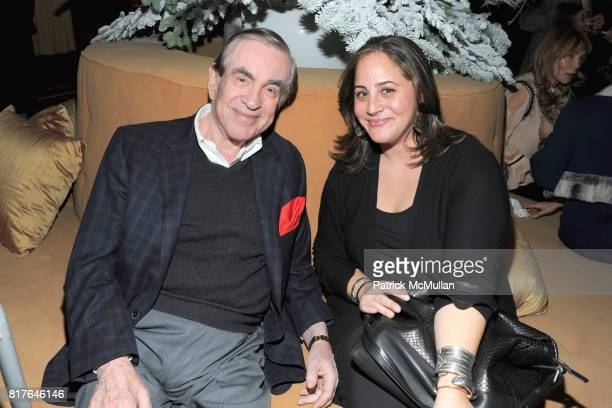 Marty Bregman and Allison Gorsuch attend ANNE HEARST MCINERNEY JAY MCINERNEY and GEORGE FARIAS Holiday Party at 21 Club on December 16 2010 in New...