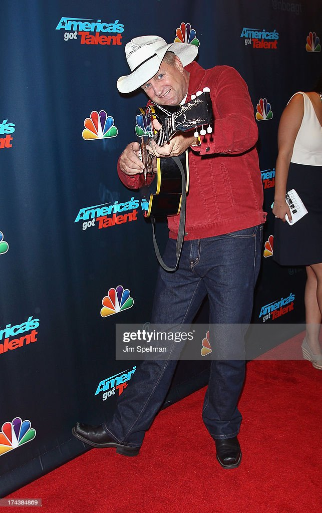 Marty Brown attends 'Americas Got Talent' Season 8 Post-Show Red Carpet Event at Radio City Music Hall on July 24, 2013 in New York City.