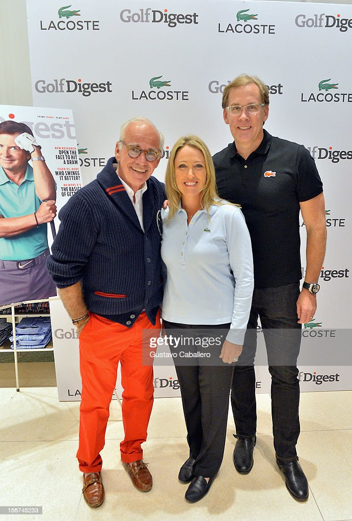 Marty Hackel, <a gi-track='captionPersonalityLinkClicked' href=/galleries/search?phrase=Cristie+Kerr&family=editorial&specificpeople=213495 ng-click='$event.stopPropagation()'>Cristie Kerr</a> and Steve Birkhold attends the Lacoste & Golf Digest Celebrate Links On Lincoln Honoring <a gi-track='captionPersonalityLinkClicked' href=/galleries/search?phrase=Cristie+Kerr&family=editorial&specificpeople=213495 ng-click='$event.stopPropagation()'>Cristie Kerr</a> on November 19, 2012 in Miami, Florida.