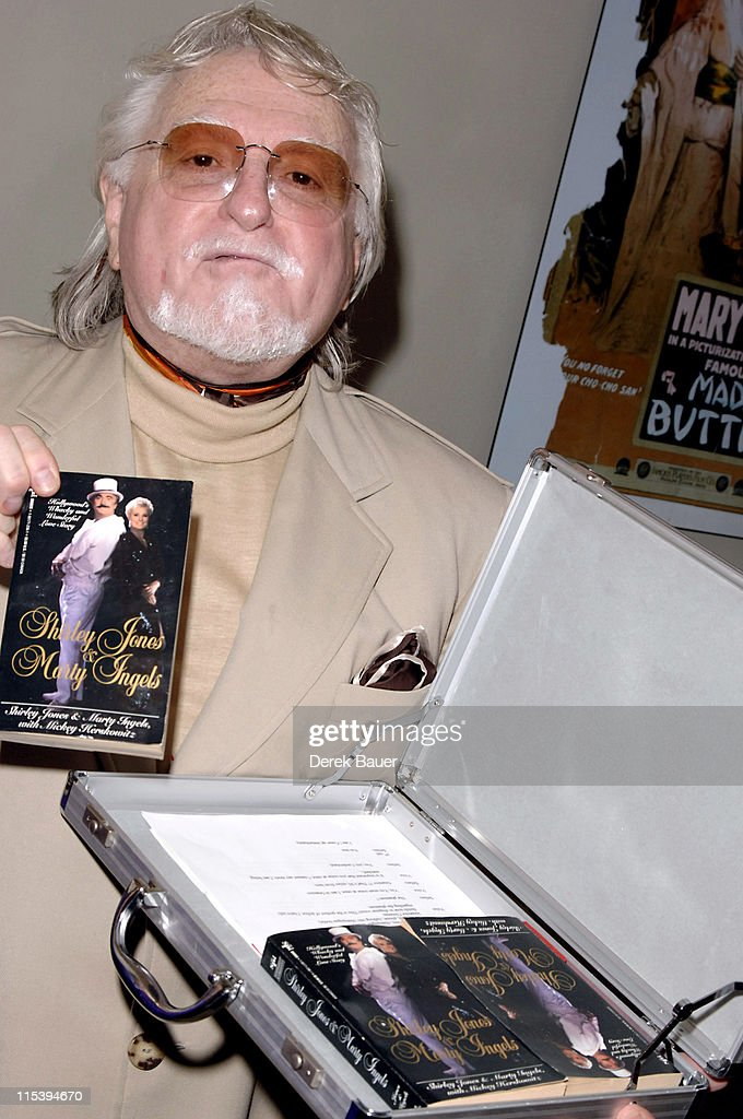 Marty Ingels during Women in Film and Hallmark Channel Honor Dr. Maya Angelou at Academy of Motion Picture Arts and Sciences in Hollywood, California, United States.