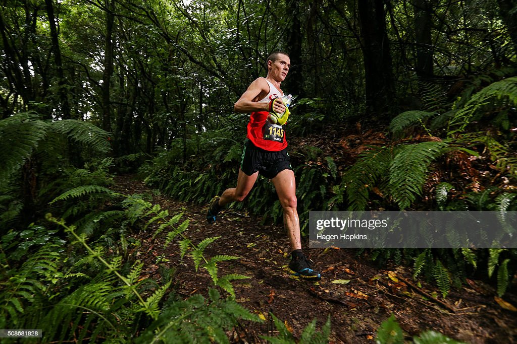 Marty Keyes of Australia in action during the Tarawera Ultramarathon on February 6, 2016 in Rotorua, New Zealand.