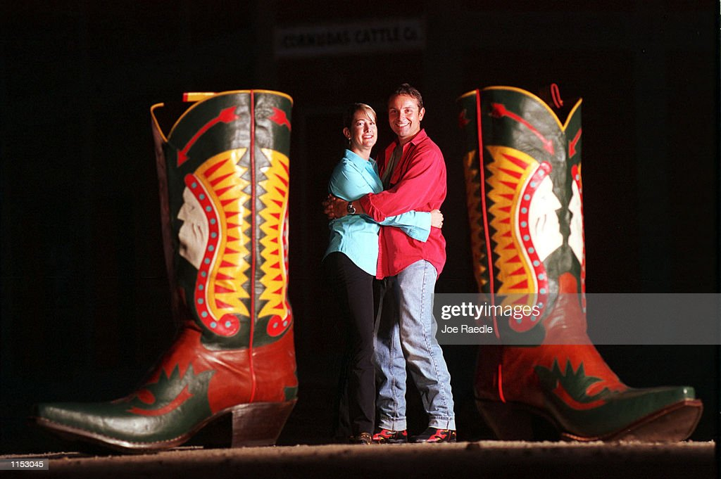 Worlds largest cowboy boots Pictures | Getty Images