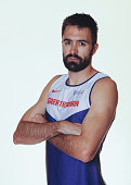 Martyn Rooney of British Athletics poses for a portrait during a Training Session on August 17 2015 in Fukuoka Japan