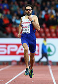 Martyn Rooney of Great Britain and Northern Ireland competes in the Men's 400 metres semifinal during day two of the 22nd European Athletics...