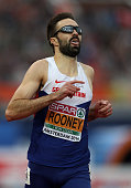 Martyn Rooney of Great Britain celebrates winning the gold medal in the final of the mens 400m on day three of The 23rd European Athletics...