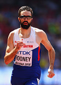 Martyn Rooney of Great Britain competes in the Men's 400 metres during day two of the 15th IAAF World Athletics Championships Beijing 2015 at Beijing...