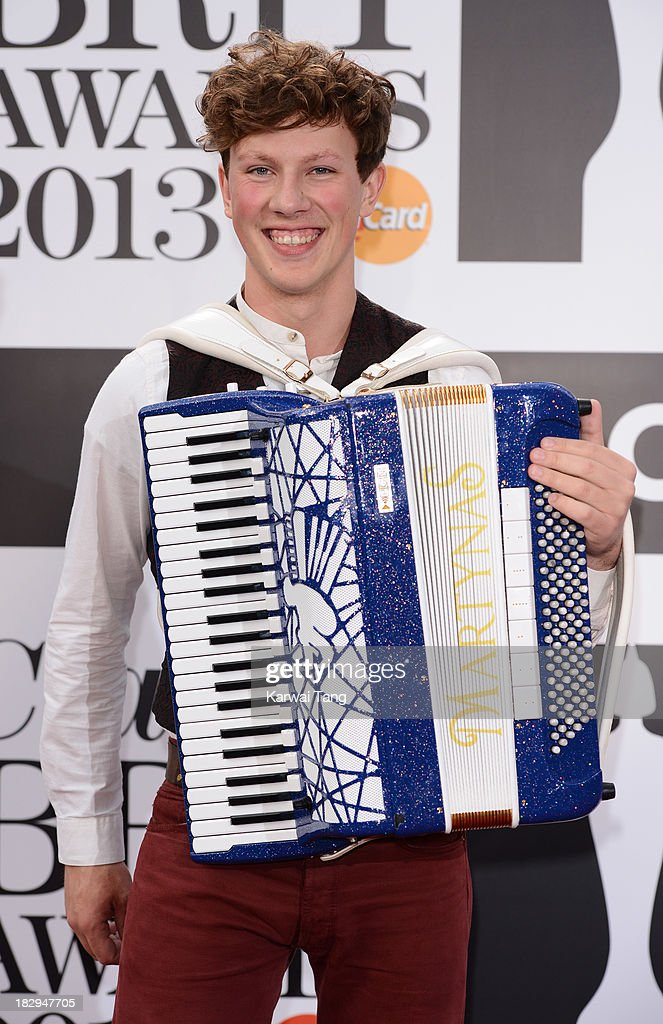 Martynas attends the Classic BRIT Awards 2013 at Royal Albert Hall on October 2, 2013 in London, England.