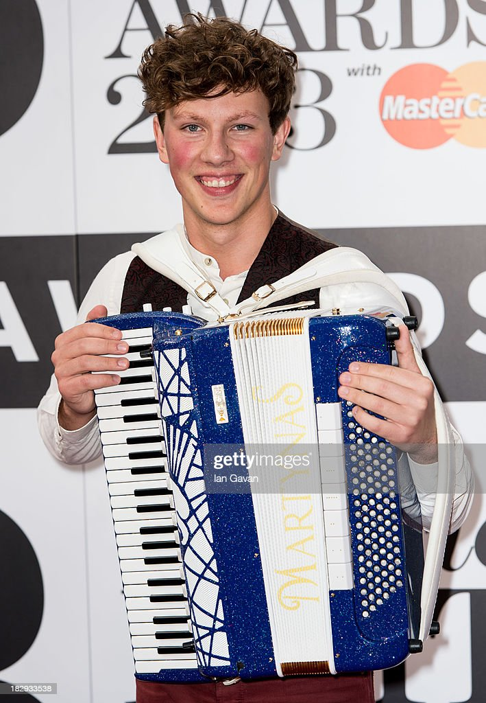 Martynas attends the Classic BRIT Awards 2013 at the Royal Albert Hall on October 2, 2013 in London, England.