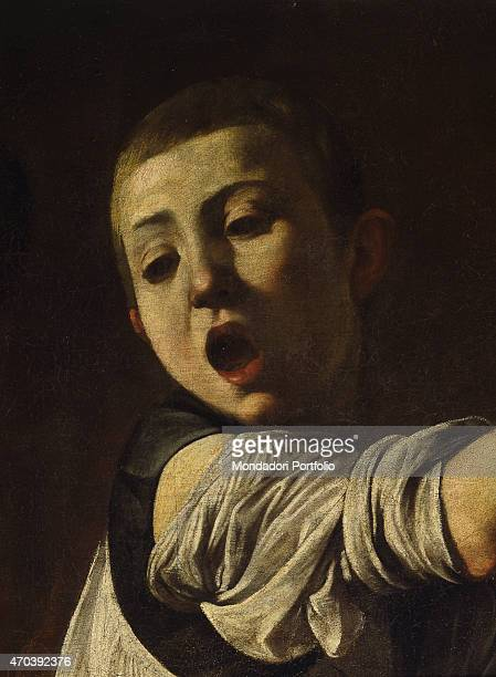 'Martyrdom of Saint Matthew by Michelangelo Merisi known as Caravaggio 15991600 16th17th Century oil on canvas 323 x 343 cm Italy Lazio Rome Church...