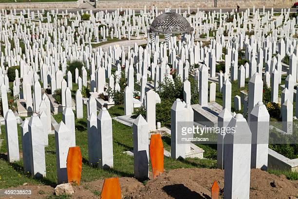 Martyr's Memorial Cemetery Kovaci In Sarajevo