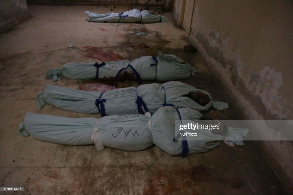 7 people died under bombing of the forces of the regime in Douma city
