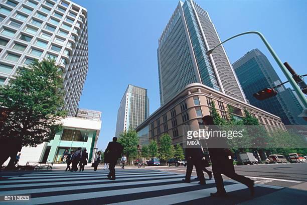 Marunouchi business district, Tokyo, Japan
