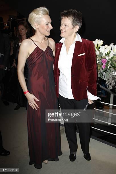 Marusha Und Renate Künast Bei Der 18 Festliche Operngala Zu Gunsten Der AidsStiftung In Berlin