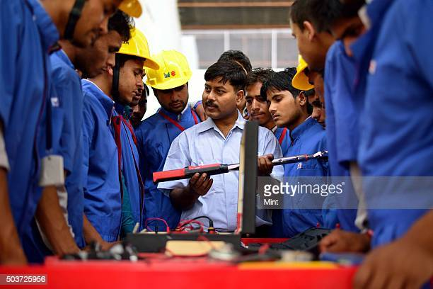 Maruti Suzuki has opened a centre of excellence for automobile skill training at ITI Meerut on APRIL 22 2015 in Meerut India Indias largest car maker...