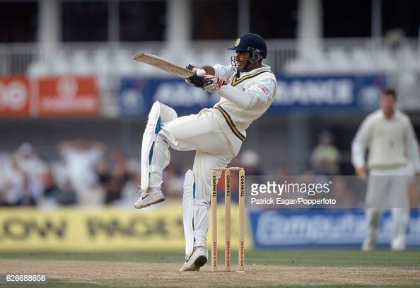 Marvan Atapattu batting for Sri Lanka during the Only Test match between England and Sri Lanka at The Oval London 28th August 1998